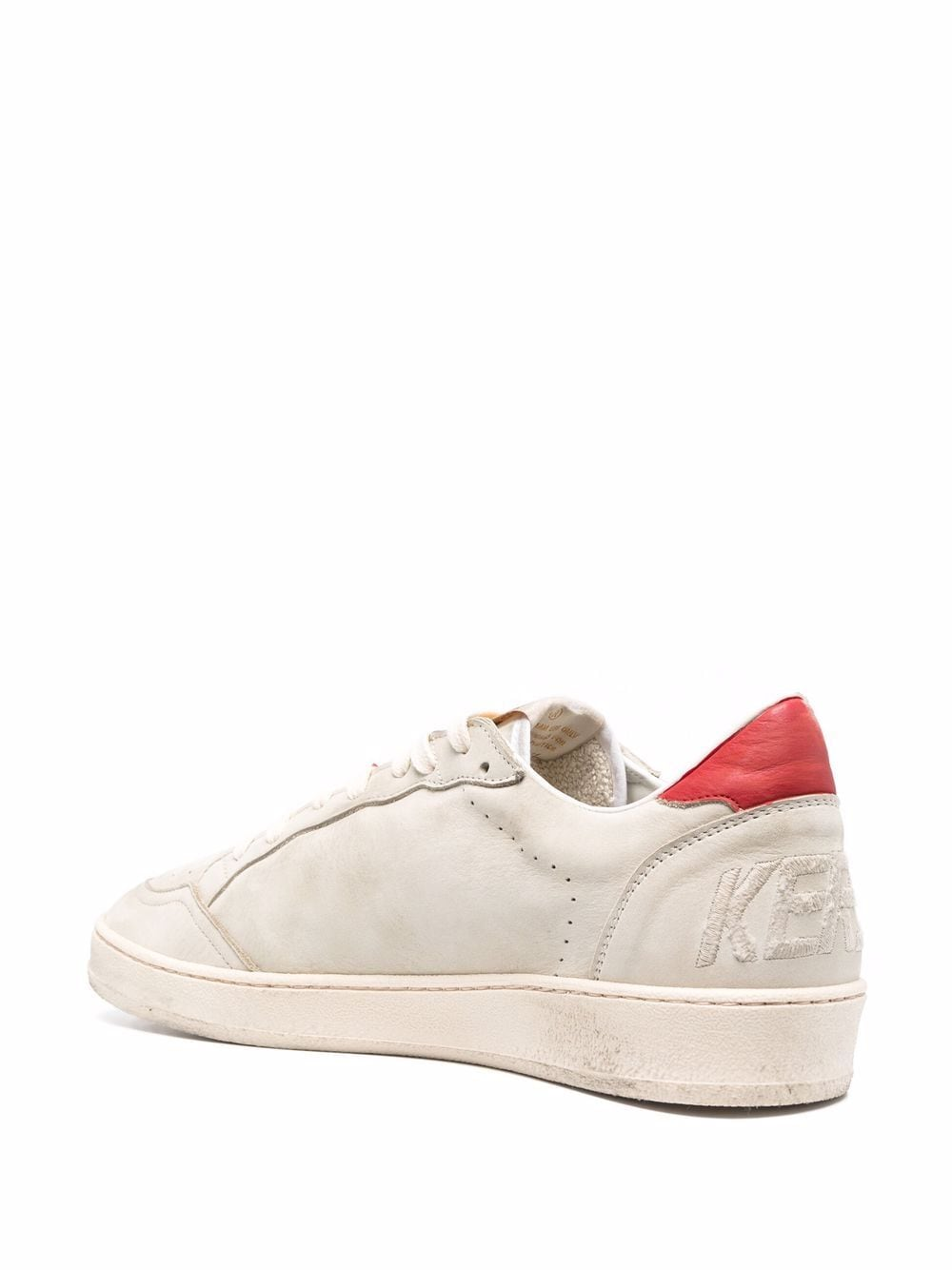 Picture of Golden Goose Deluxe Brand   Ball Star Low-Top Lace-Up Sneakers