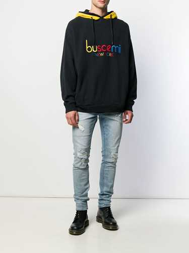 Picture of Buscemi | Embroidered Logo Hoodie