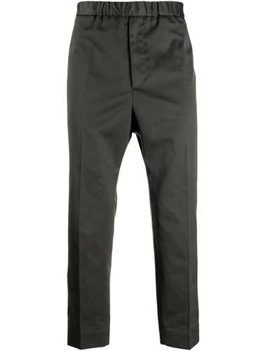 Picture of Jil Sander | Elasticated Cropped Trousers