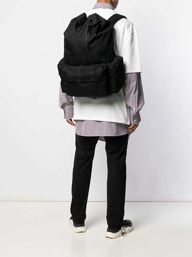 Picture of Jil Sander | Climb Logo Patch Backpack
