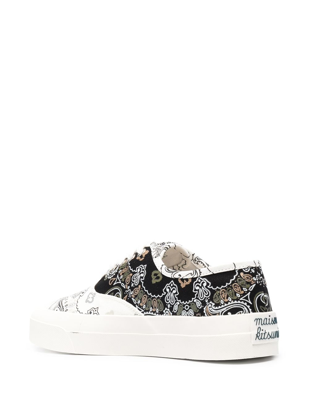 Picture of Maison Kitsune` | Bandana Print Low Sneakers