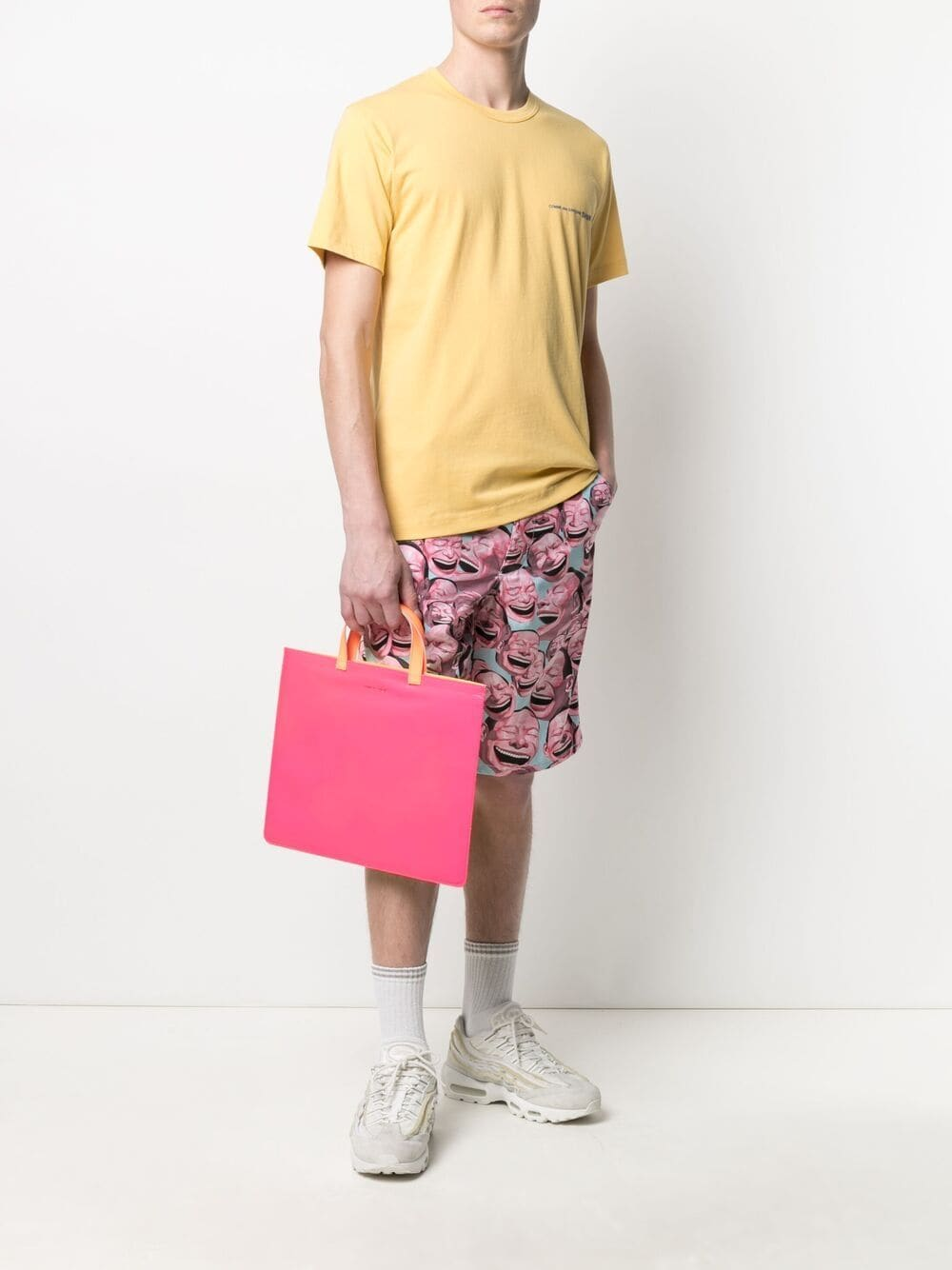 Picture of Comme Shirt | Logo-Print T-Shirt