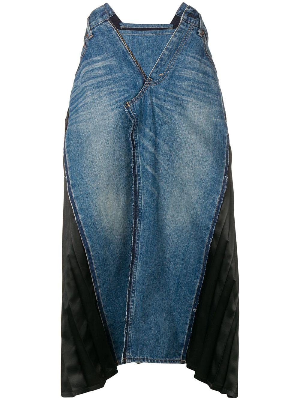 Picture of Junya Watanabe | A-Line Denim Skirt