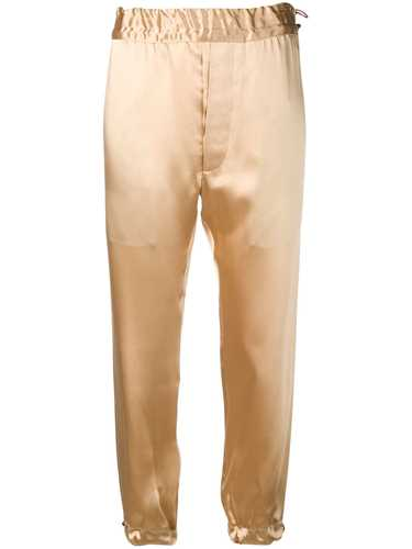 Picture of Unravel Project | Metallic Sheen Cropped Trousers