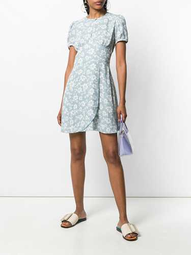 Picture of Alexachung | Hibiscus Print Short Dress