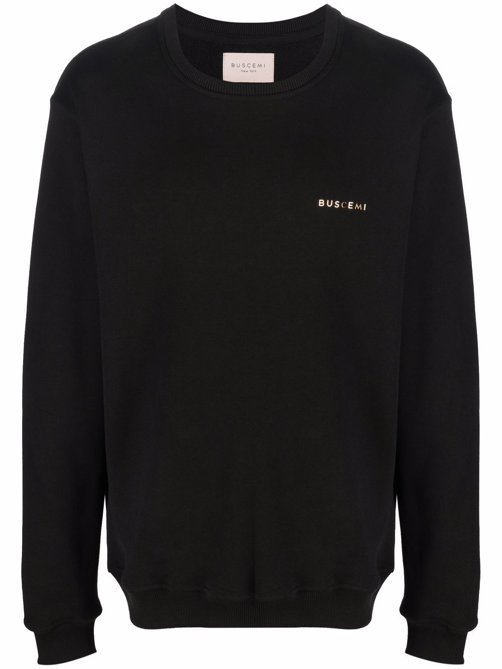 Picture of Buscemi   Raised Logo Cotton Sweatshirt