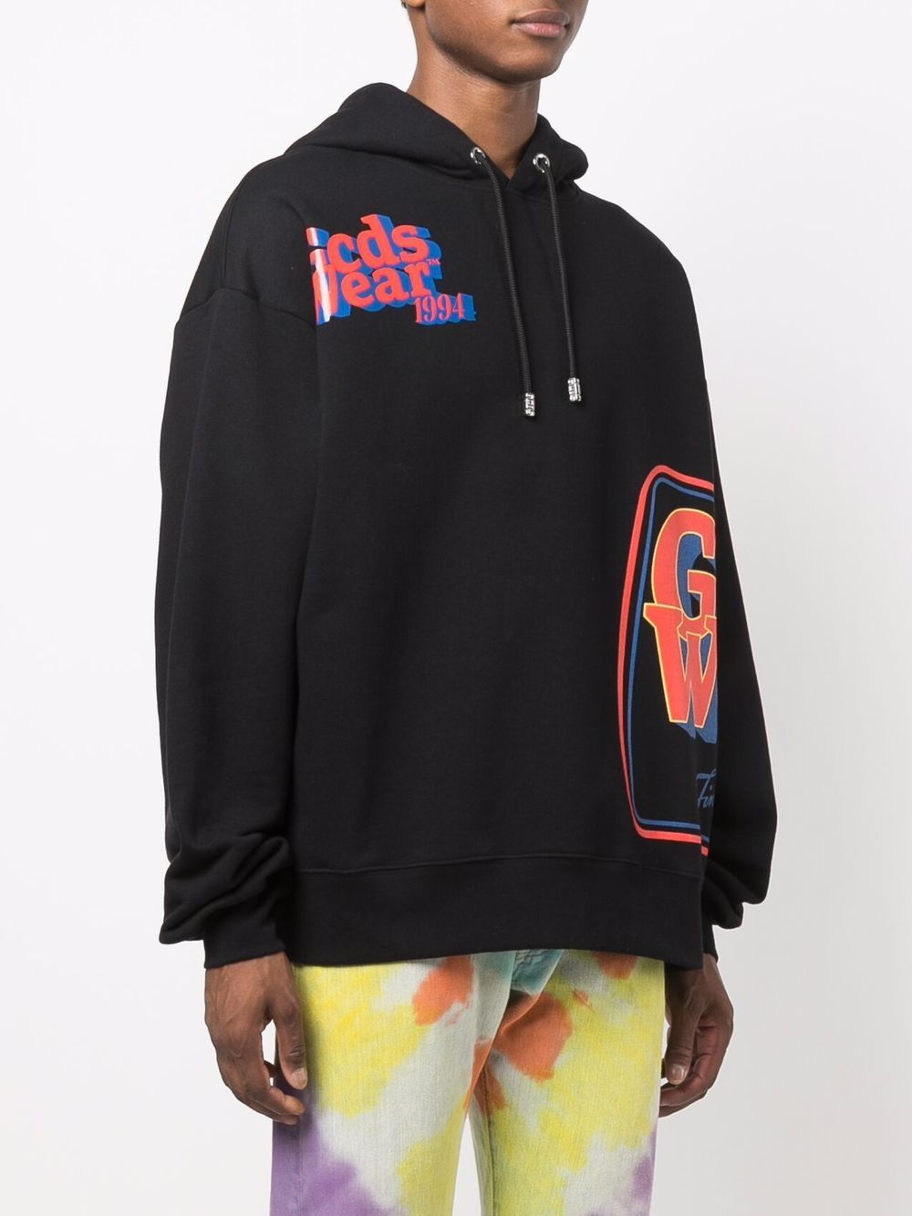 Picture of Gcds   Logo-Printed Hoodie