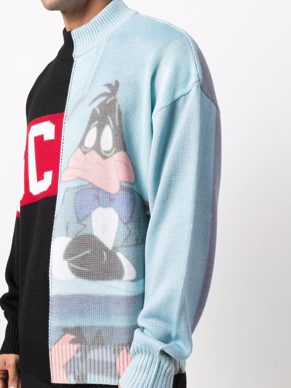 Picture of Gcds | Panelled Knitted Jumper