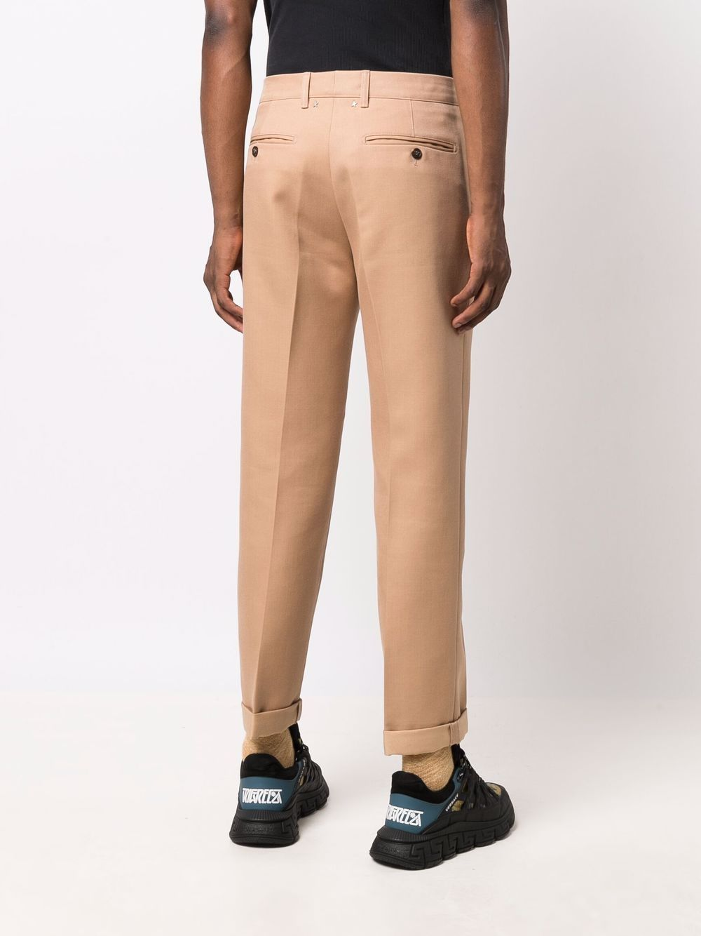 Picture of Golden Goose Deluxe Brand | Mid-Rise Straight-Leg Trousers
