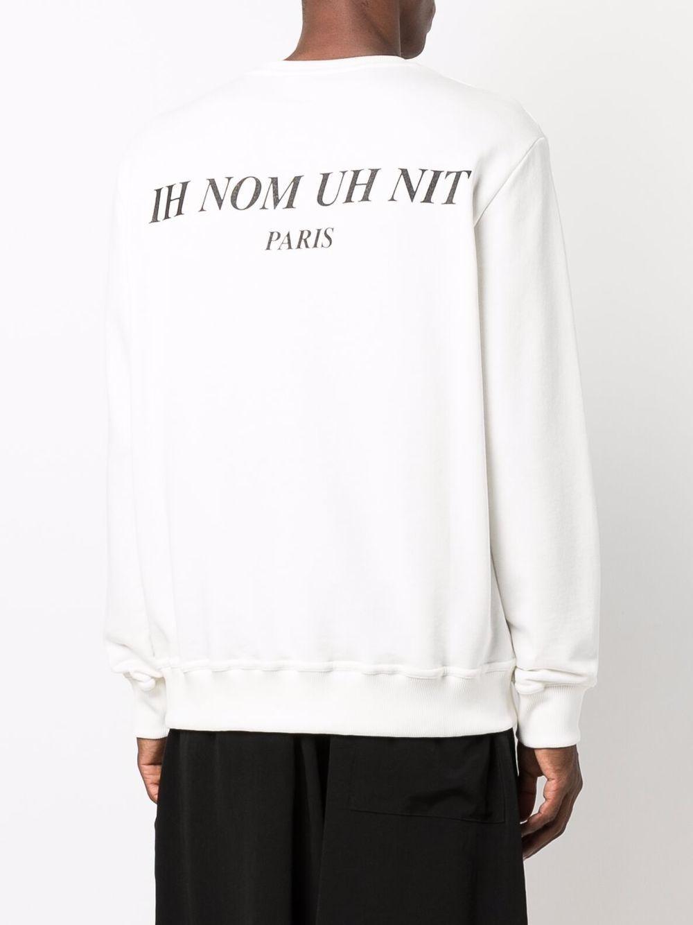 Picture of Ih Nom Uh Nit   Logo Graphic-Print Sweatshirt