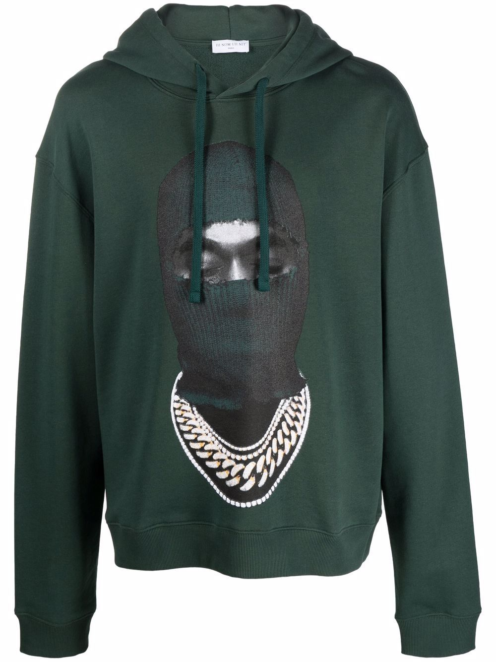 Picture of Ih Nom Uh Nit | Face-Print Cotton Hoodie