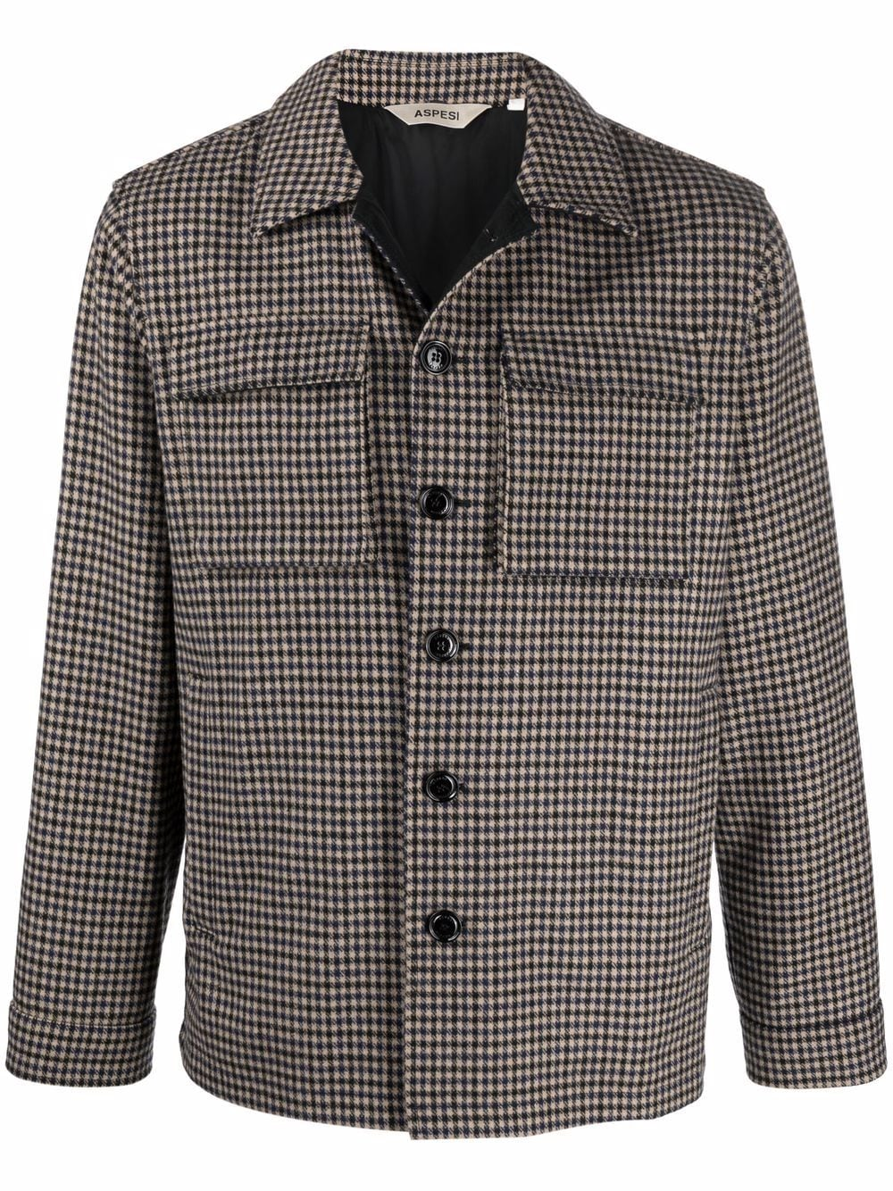 Picture of Aspesi   Chest-Pocket Shirt Jacket