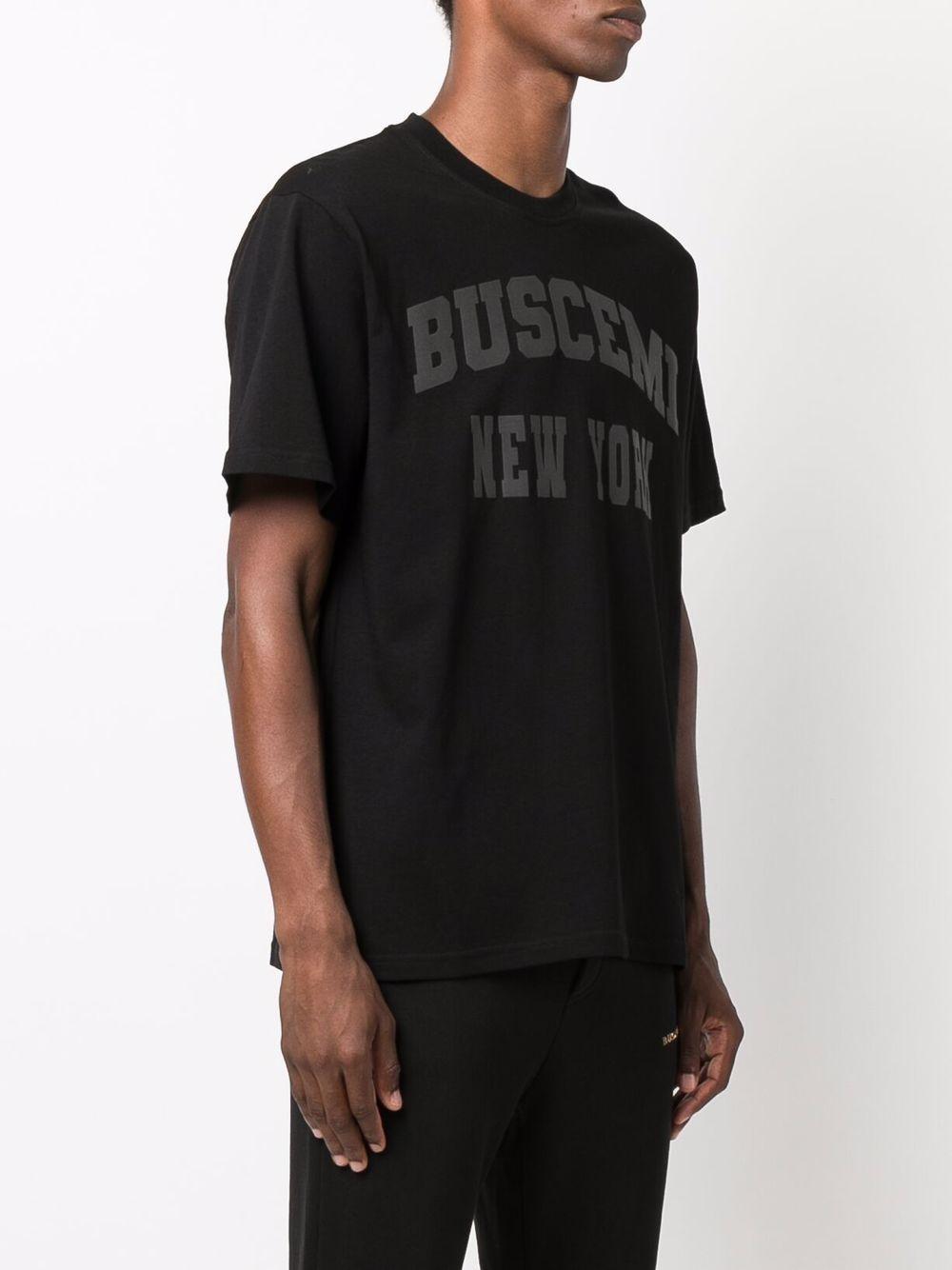 Picture of Buscemi | Logo-Print Cotton T-Shirt