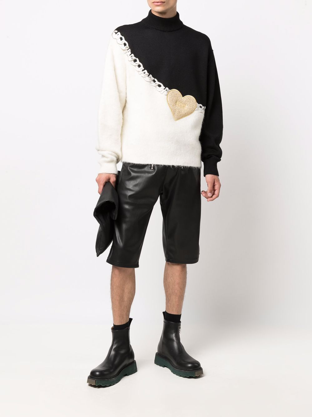 Picture of Gcds | Heart Contrast Jumper