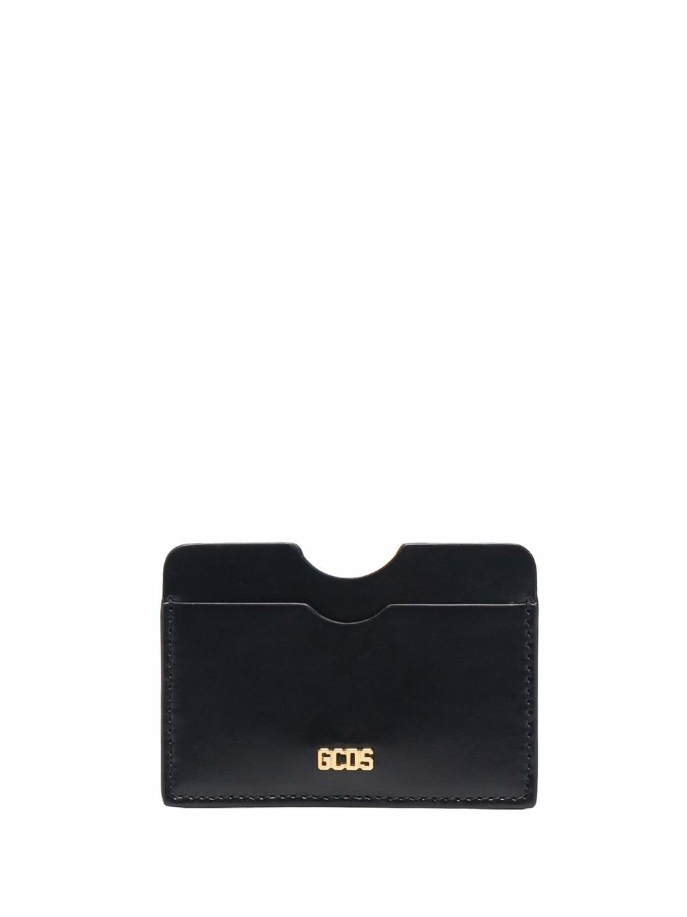 Picture of Gcds   Embossed Logo Leather Cardholder