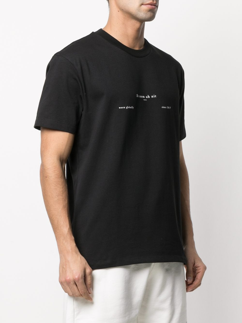 Picture of Ih Nom Uh Nit | Logo-Print Cotton T-Shirt