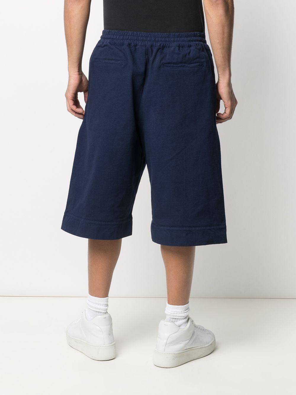 Picture of Jil Sander | Knee-Length Cotton Deck Shorts
