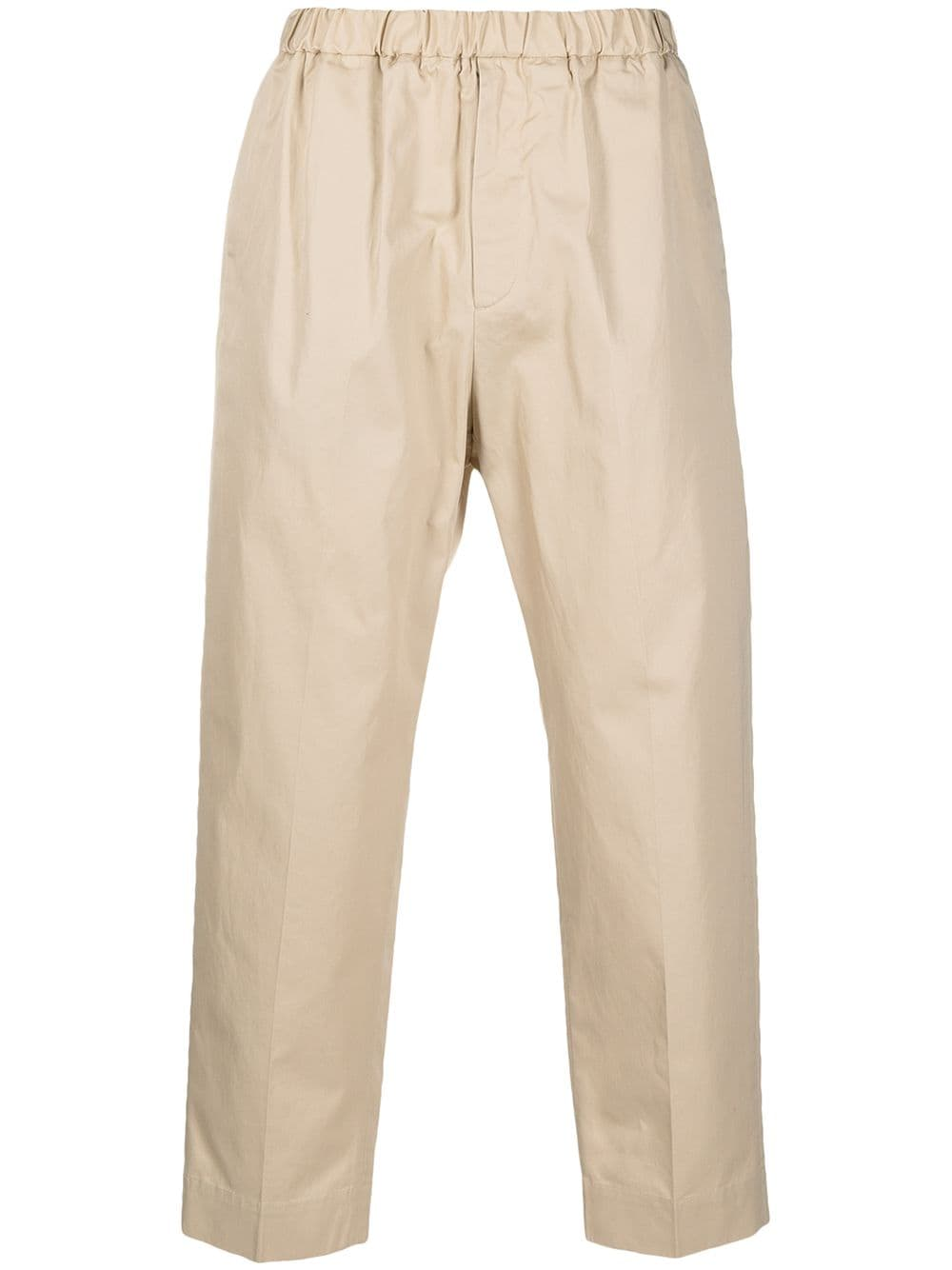 Picture of Jil Sander | Tailored Cotton Trousers