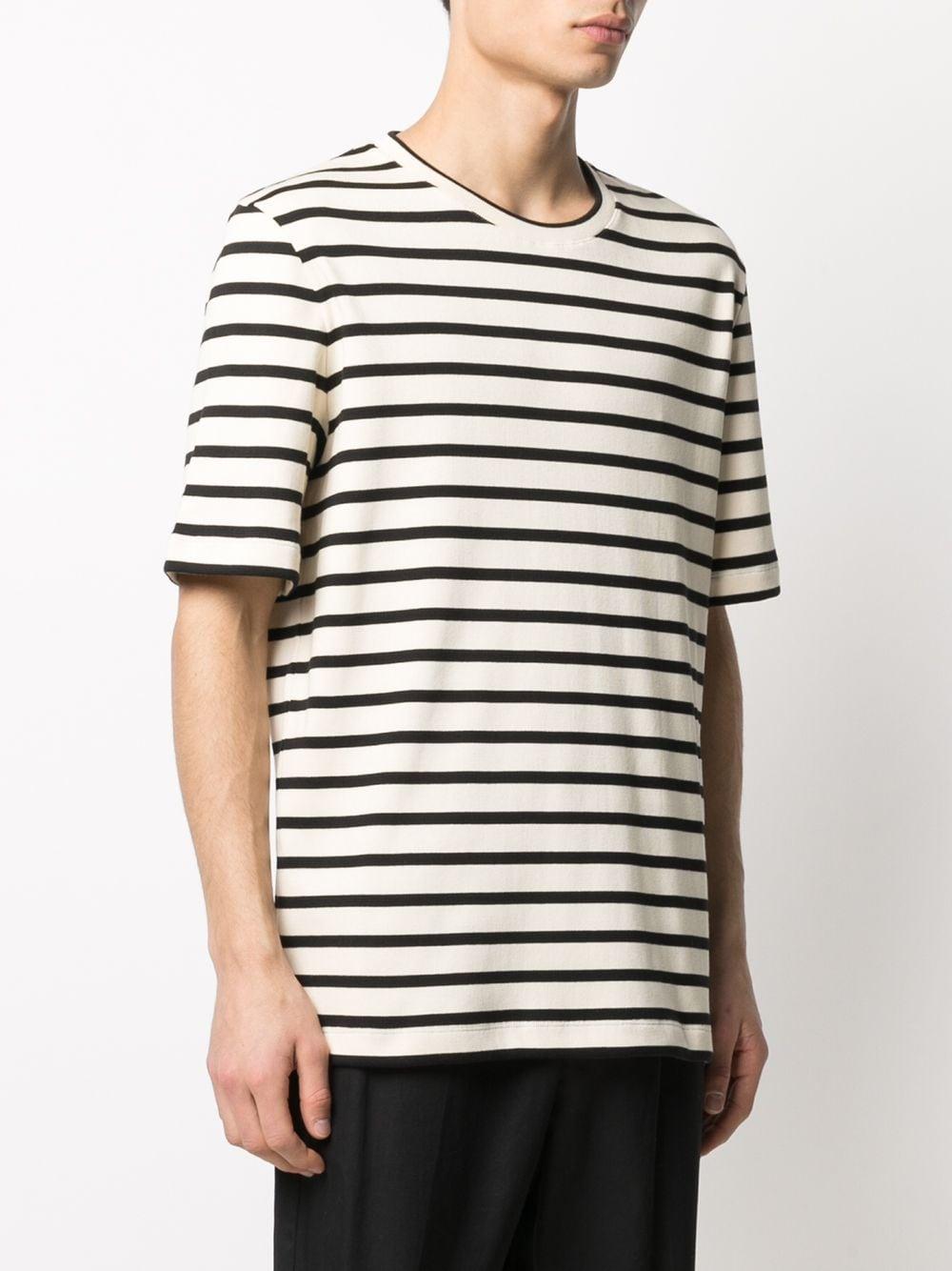 Picture of Jil Sander   Horizontal-Stripe T-Shirt