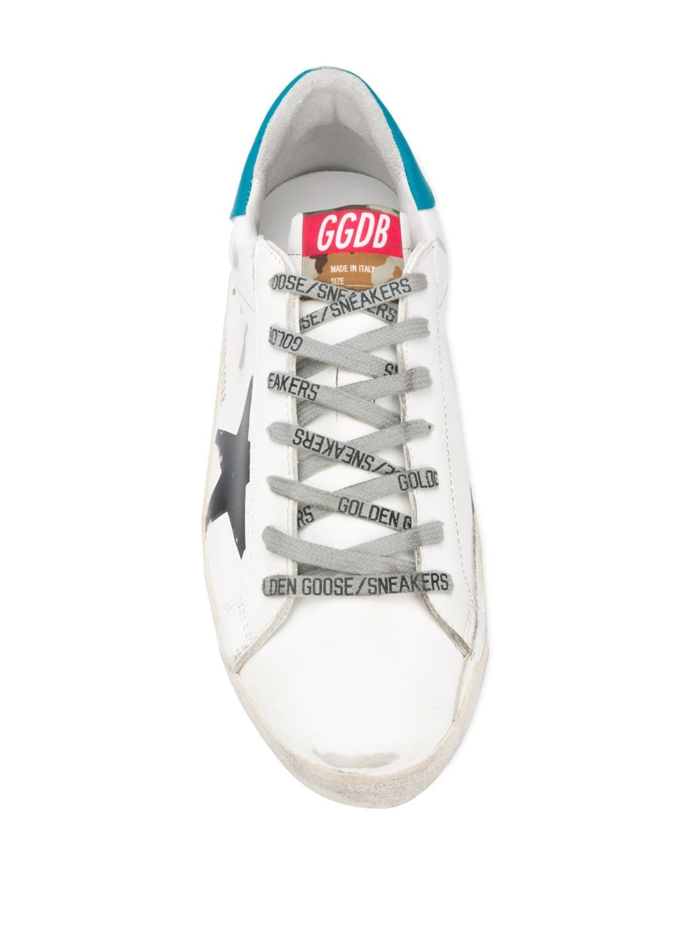 Picture of Golden Goose Deluxe Brand | Superstar Distressed Effect Sneakers