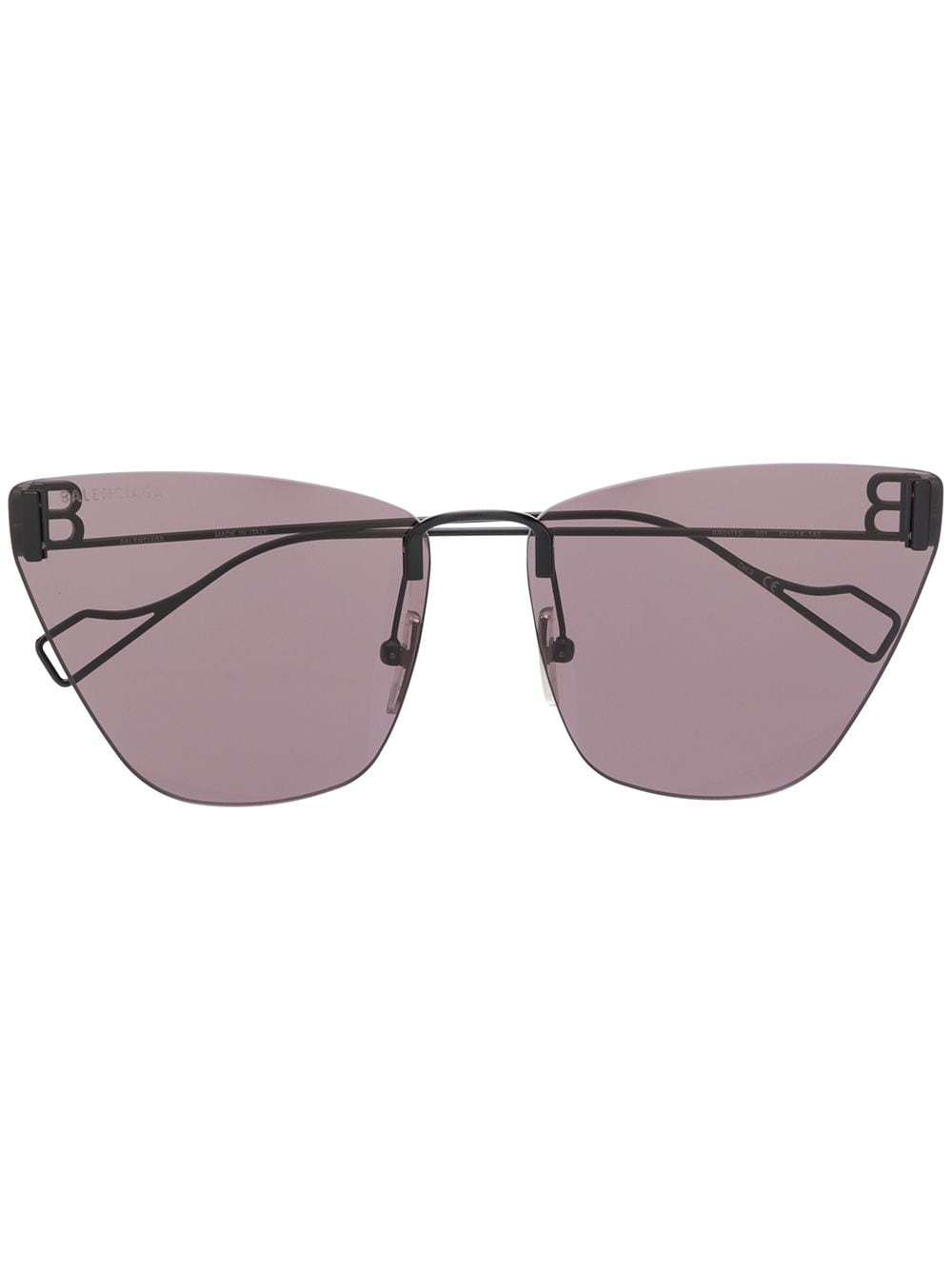Picture of Balenciaga | Frameless Cat-Eye Sunglasses