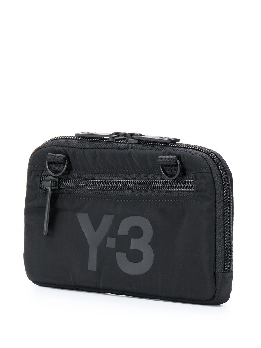 Picture of Adidas Y-3   Logo Print Wallet