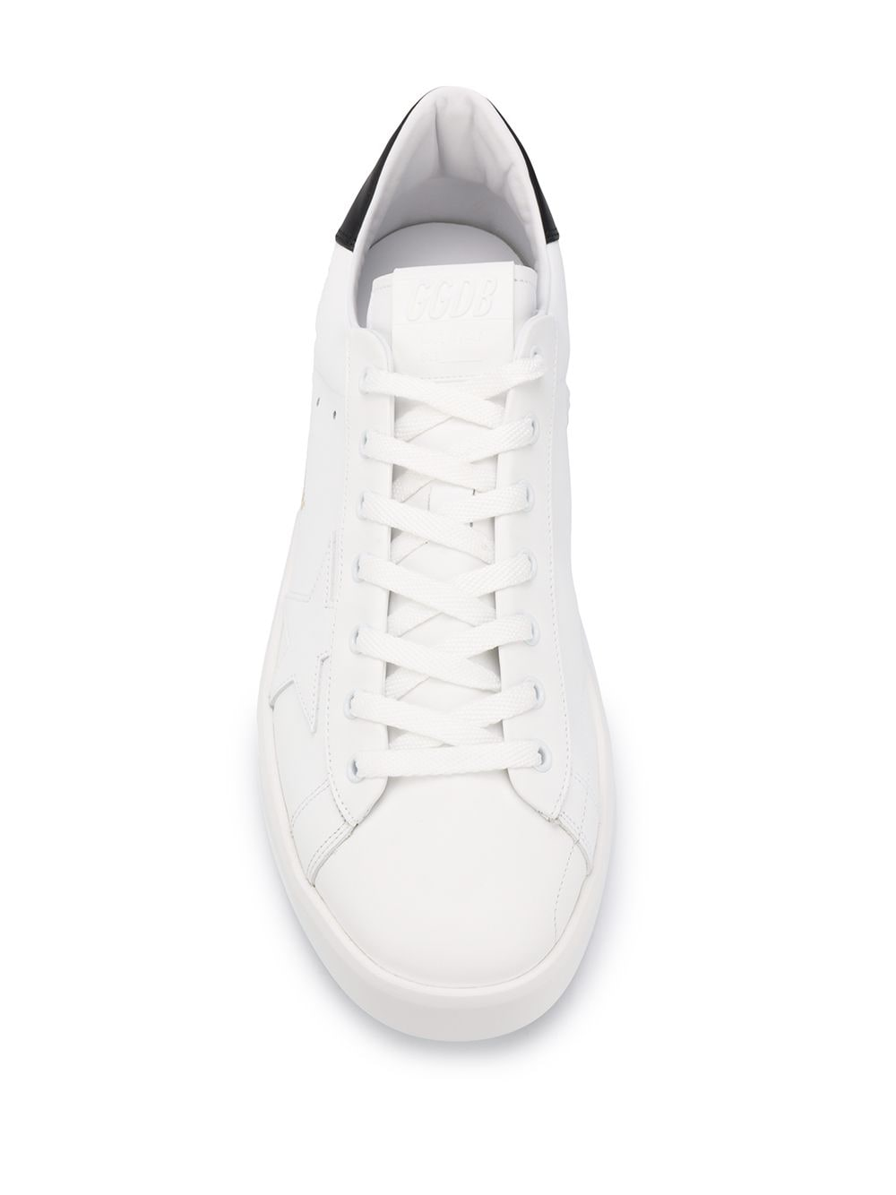 Picture of Golden Goose Deluxe Brand | Superstar Lace-Up Trainers