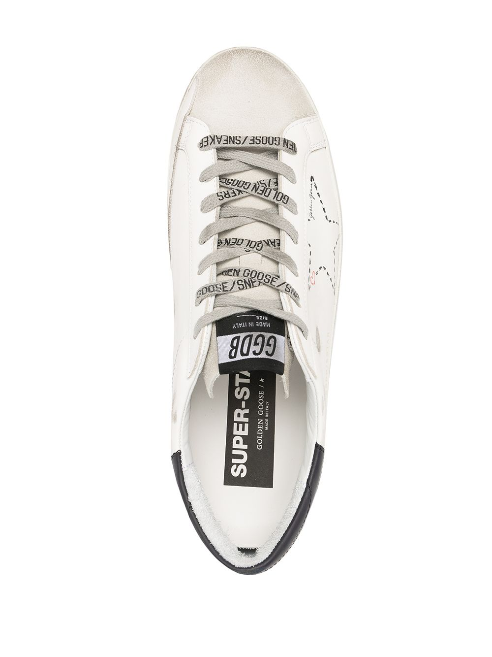 Picture of Golden Goose Deluxe Brand | Superstar Lace-Up Sneakers