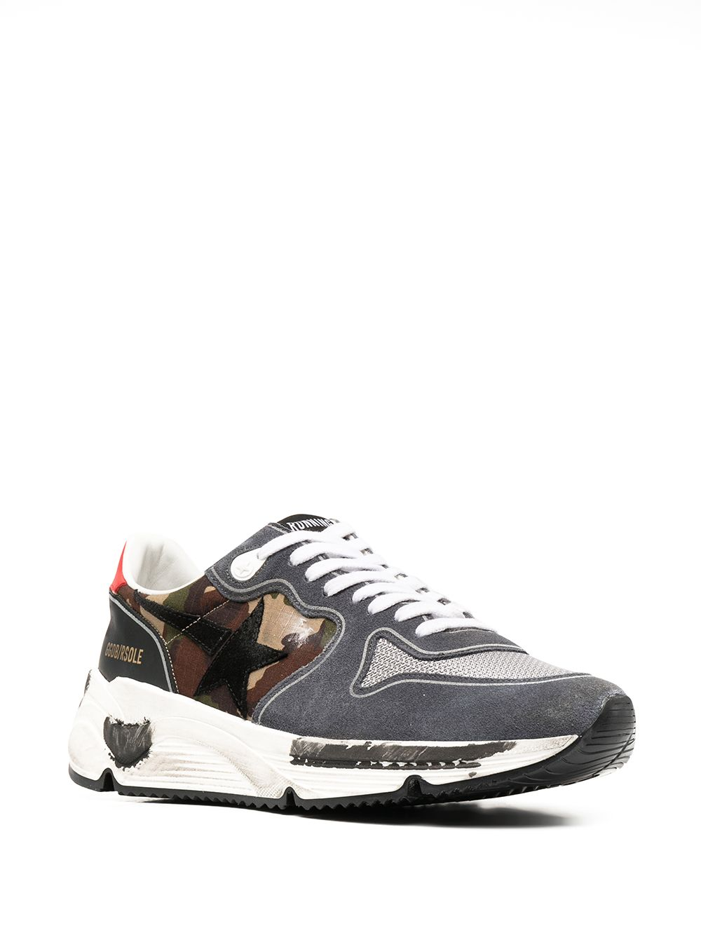 Picture of Golden Goose Deluxe Brand   Lace-Up Sneakers
