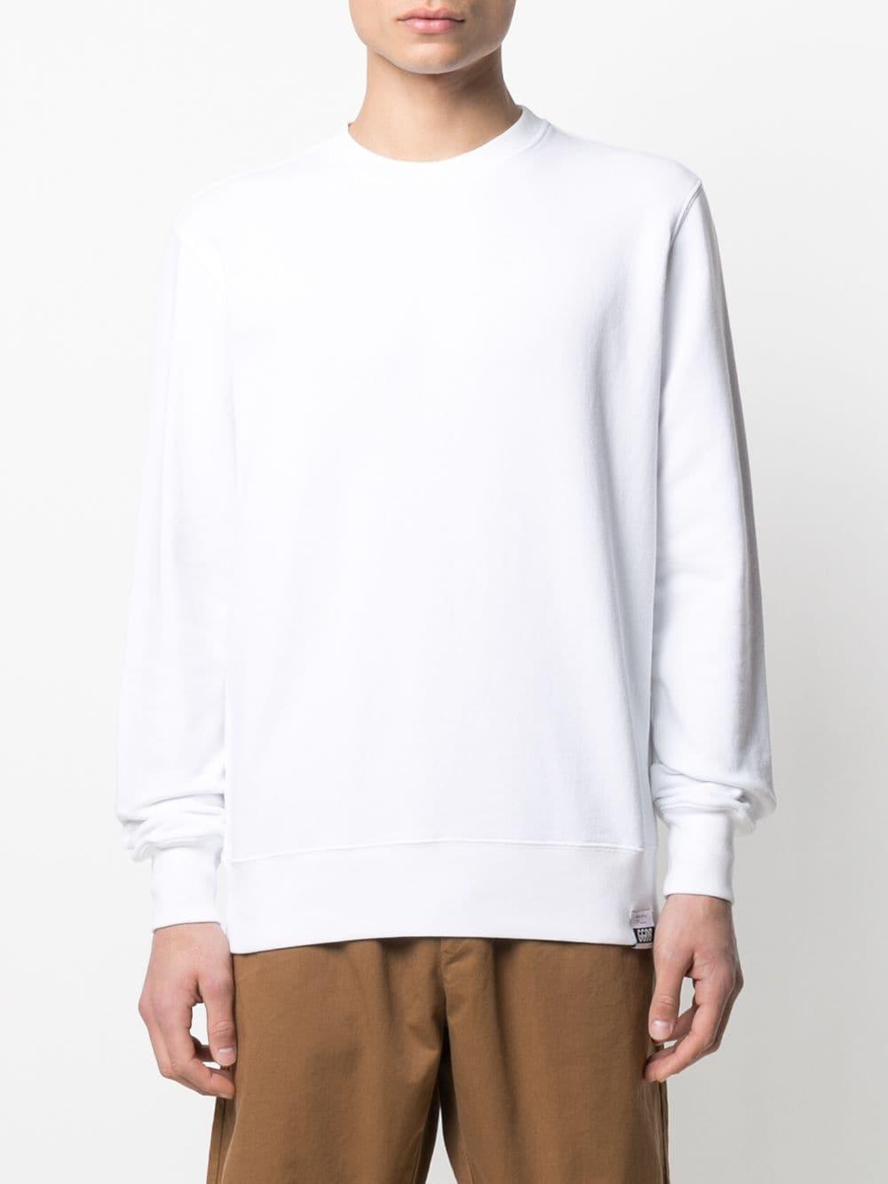 Picture of Golden Goose Deluxe Brand   Rethink Rear Print Sweatshirt