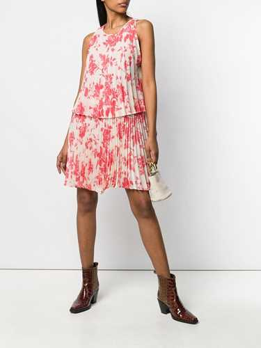 Picture of Semicouture | Floral Print Pleated Dress
