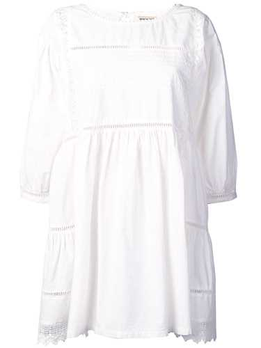 Picture of Semicouture | Embroidered Poplin Dress