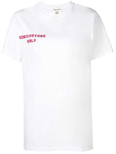 Picture of Semicouture | Logo Print T-Shirt