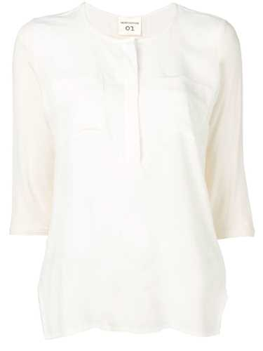 Picture of Semicouture | Henley Blouse