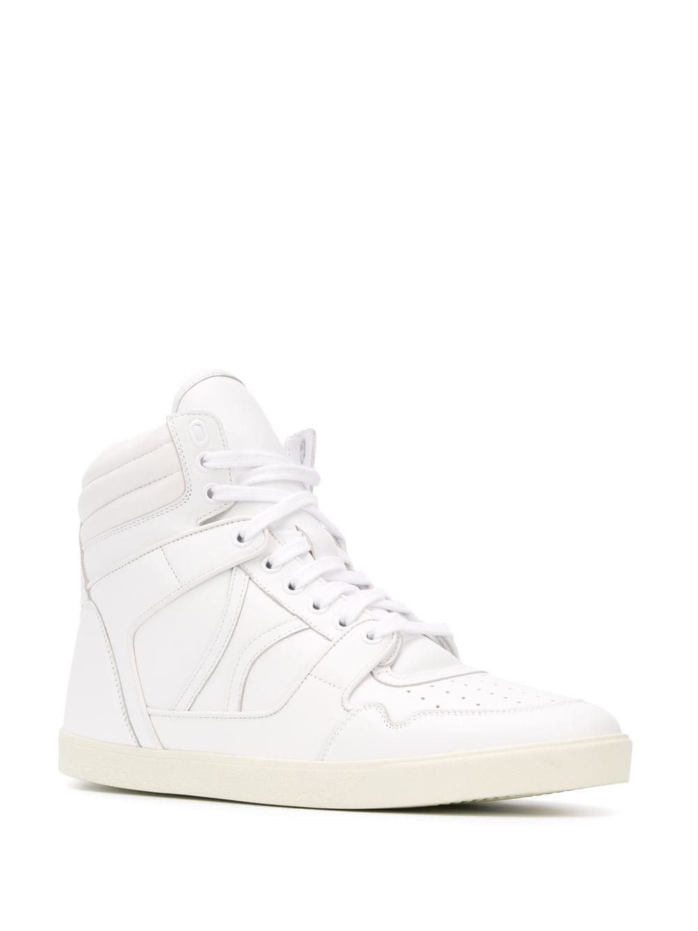 Picture of Celine | Logo Hi-Top Sneakers
