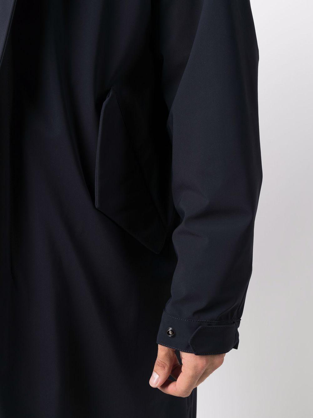 Picture of Aspesi | Hooded Zip-Up Coat