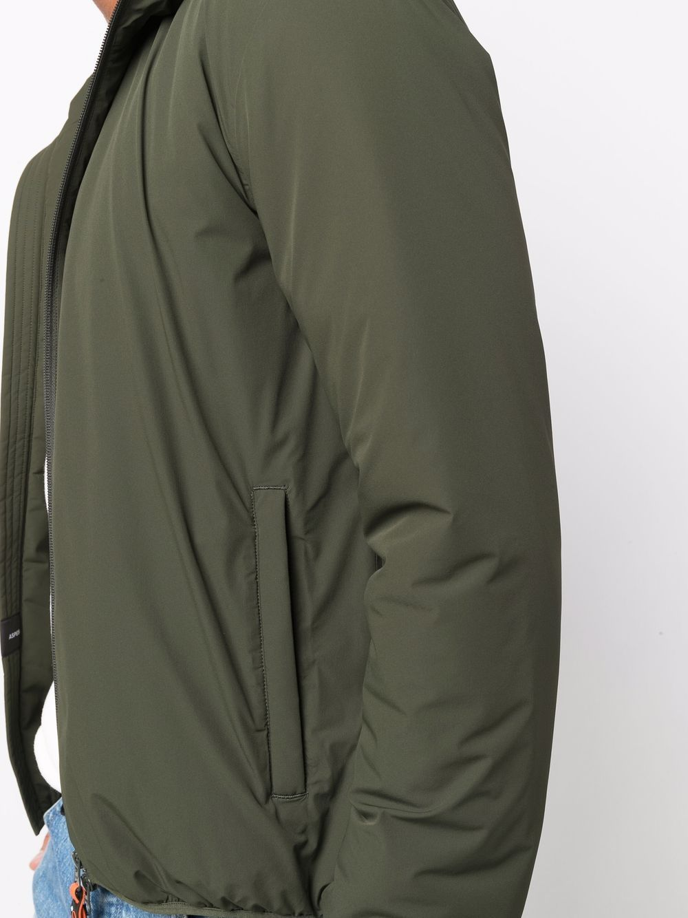 Picture of Aspesi | Hooded Zip-Up Jacket