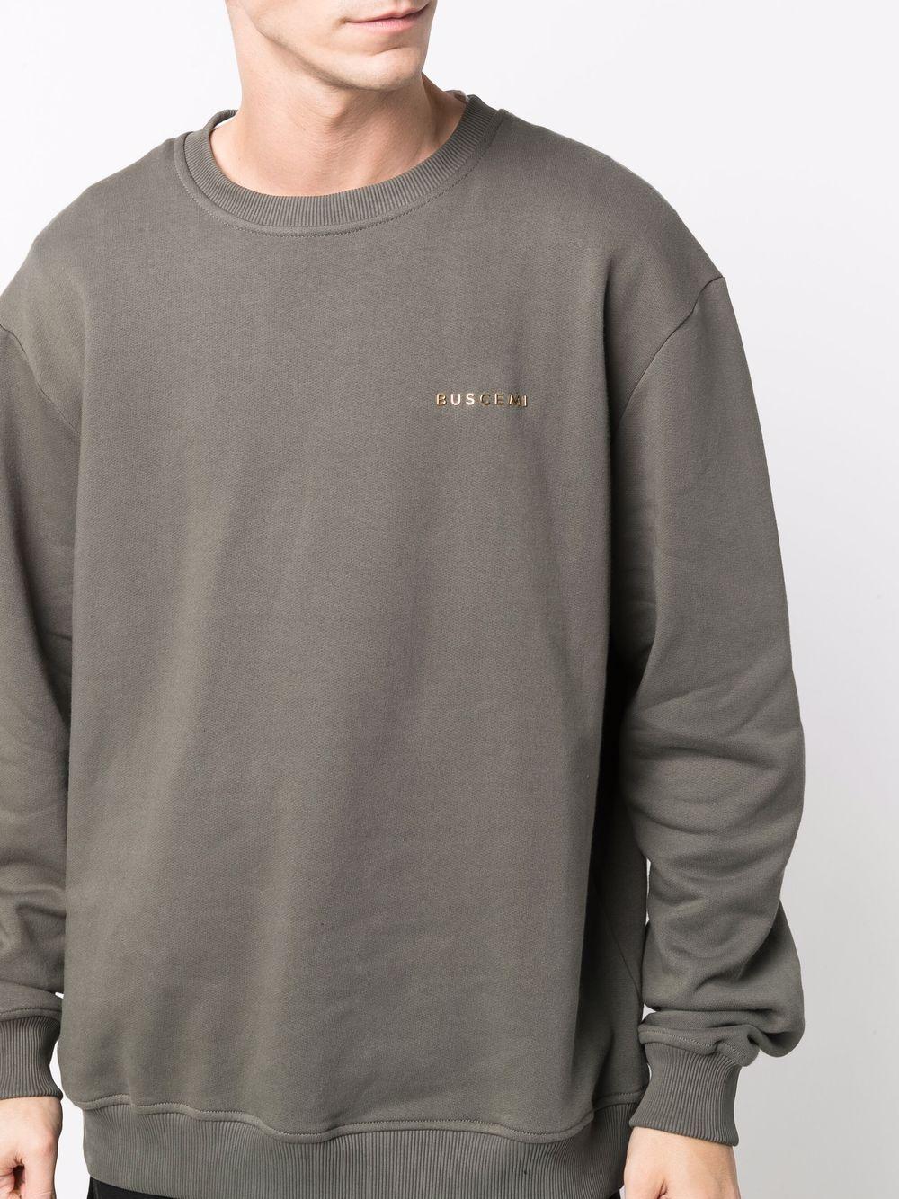 Picture of Buscemi   Logo-Printed Sweatshirt