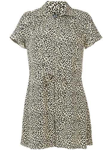 Picture of A.P.C. | Leopard Print Romper