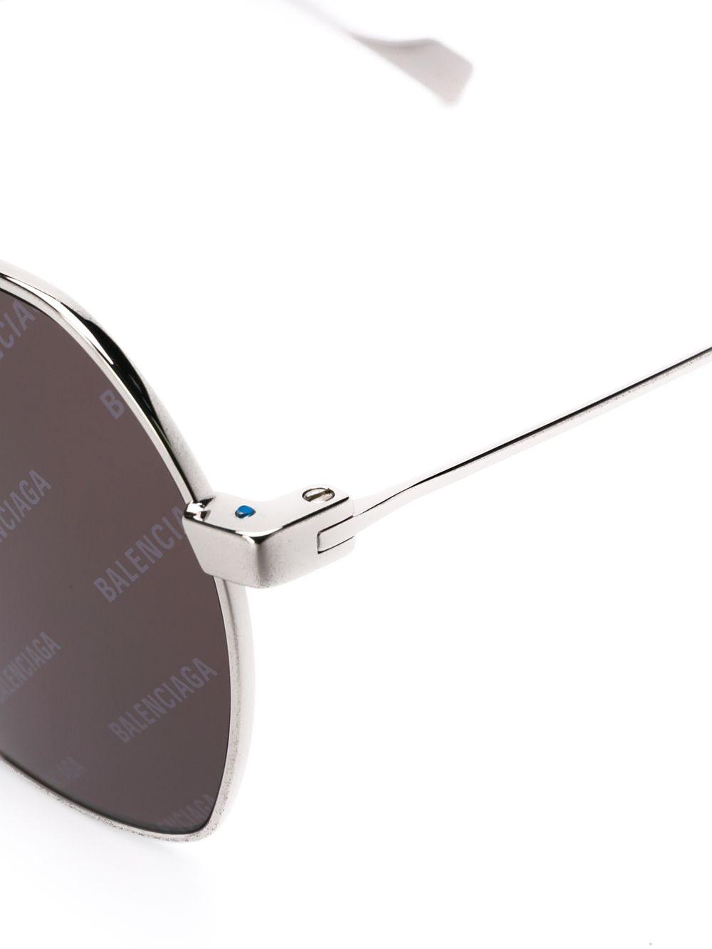 Picture of Balenciaga | Ghost Square-Frame Sunglasses