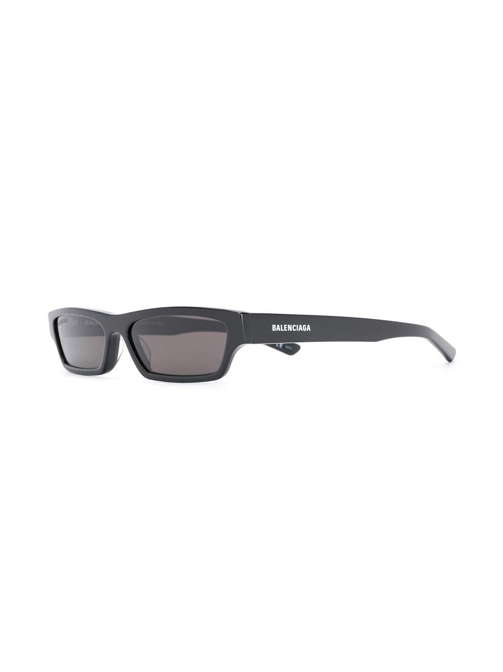 Picture of Balenciaga | Rectangular-Frame Sunglasses