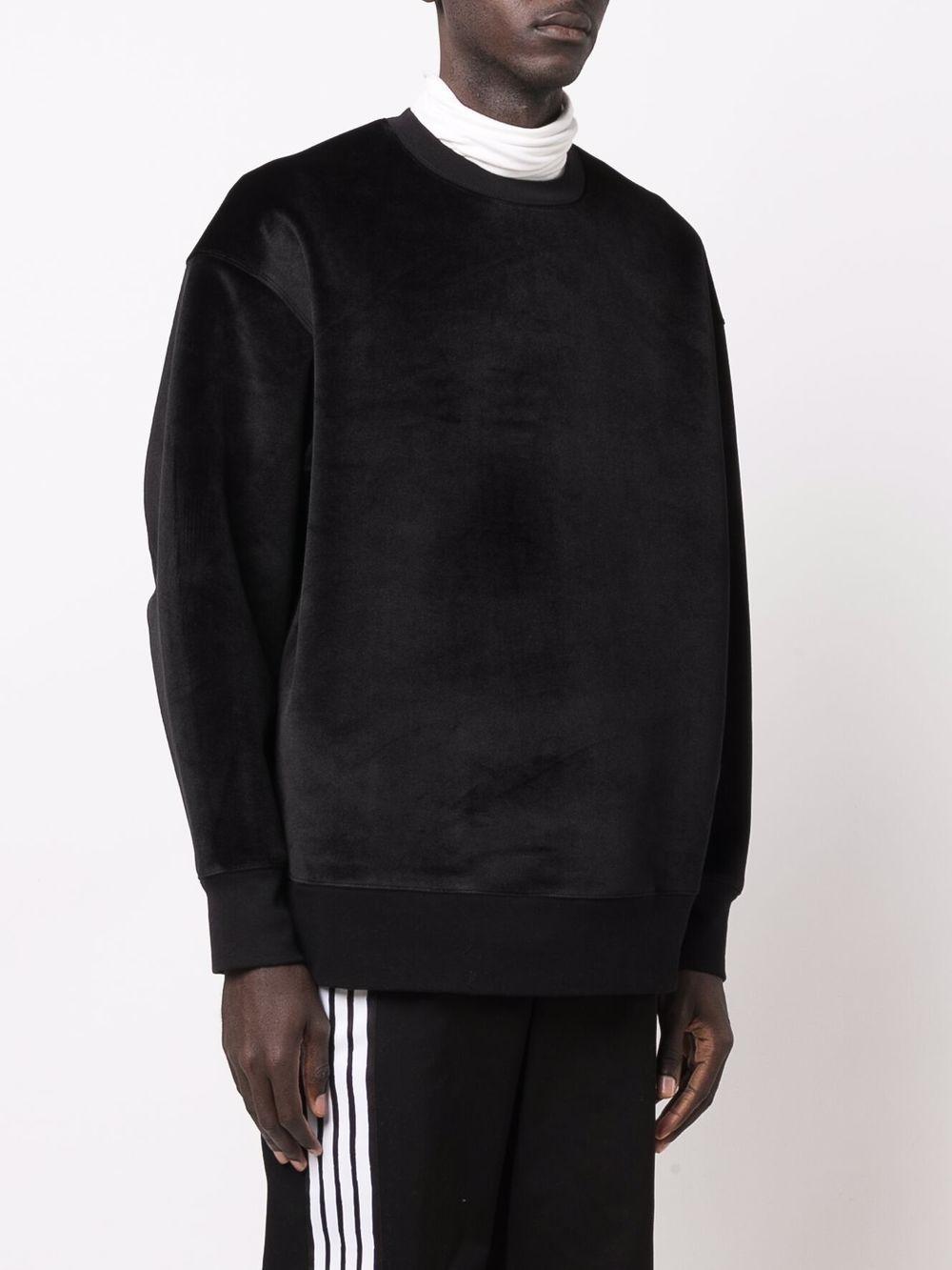 Picture of Adidas Y-3   Velvet-Effect Sweatshirt