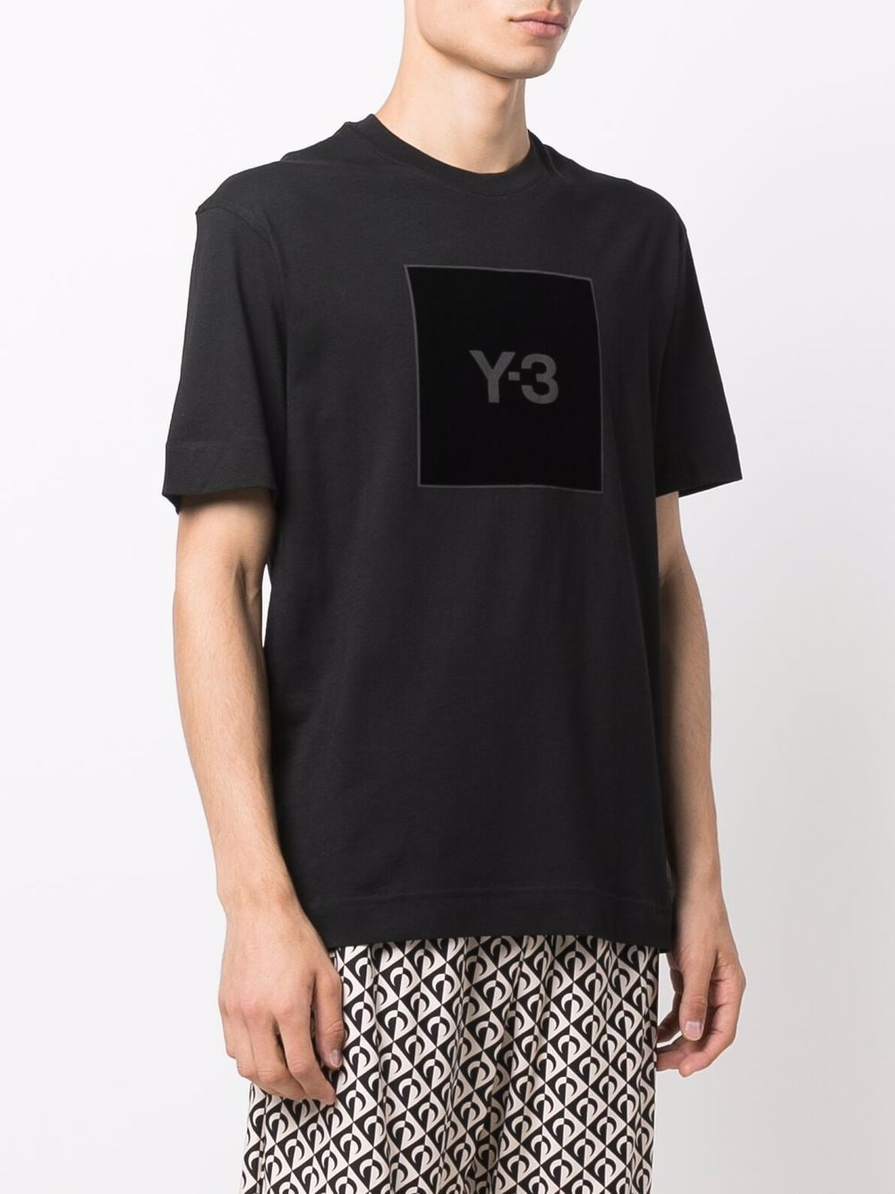 Picture of Adidas Y-3 | Square Logo-Print T-Shirt