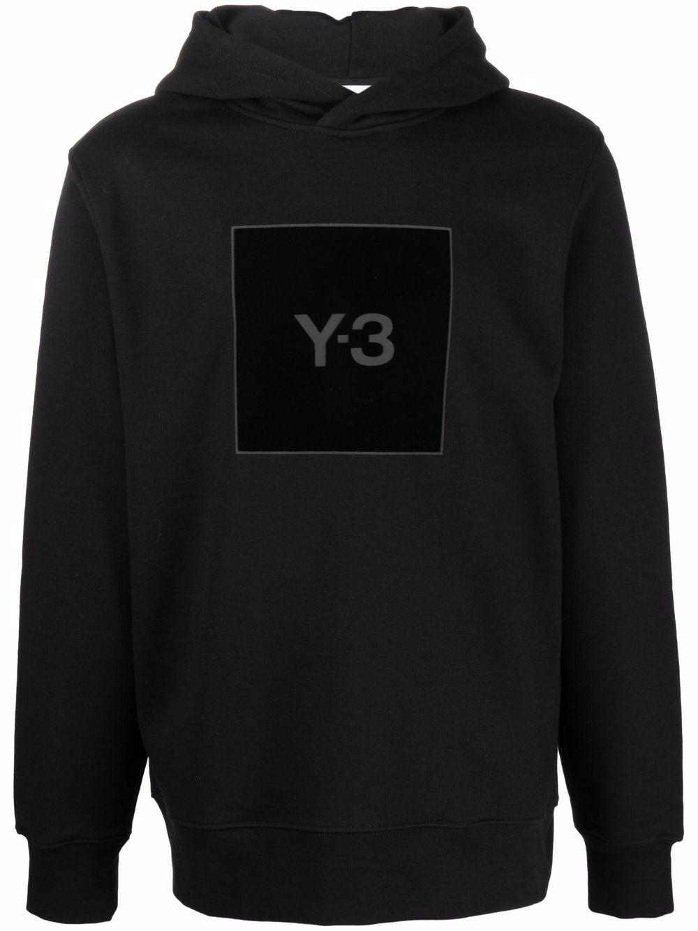 Picture of Adidas Y-3 | Logo-Print Hoodie
