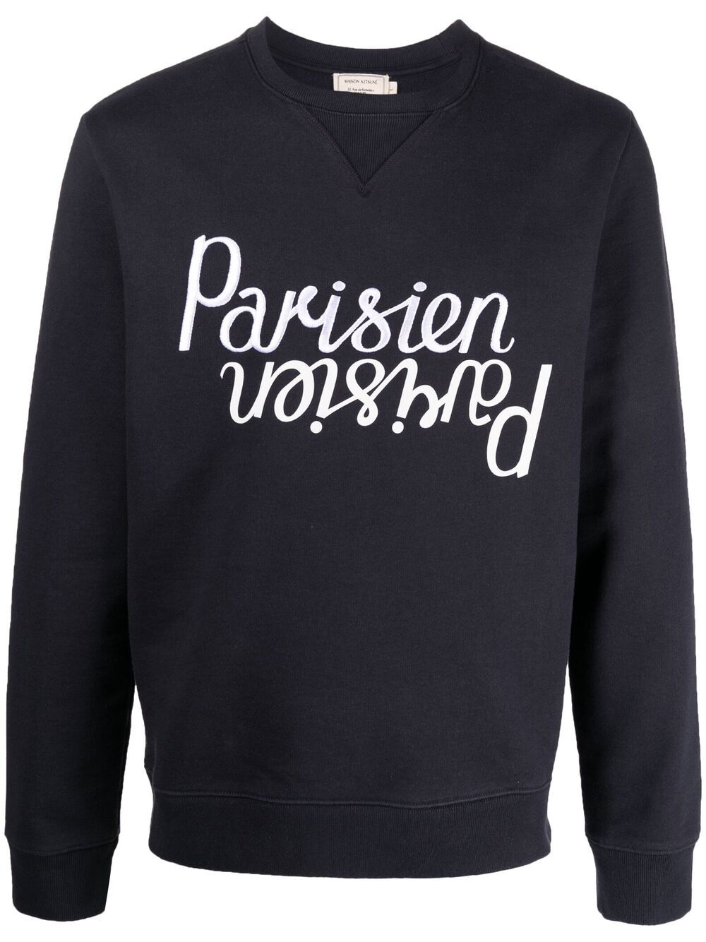 Picture of Maison Kitsune` | Parisien Embroidered Sweatshirt