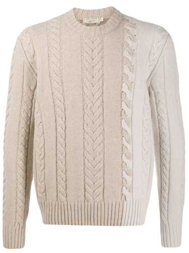 Picture of Maison Kitsune` | Cable Knit Jumper