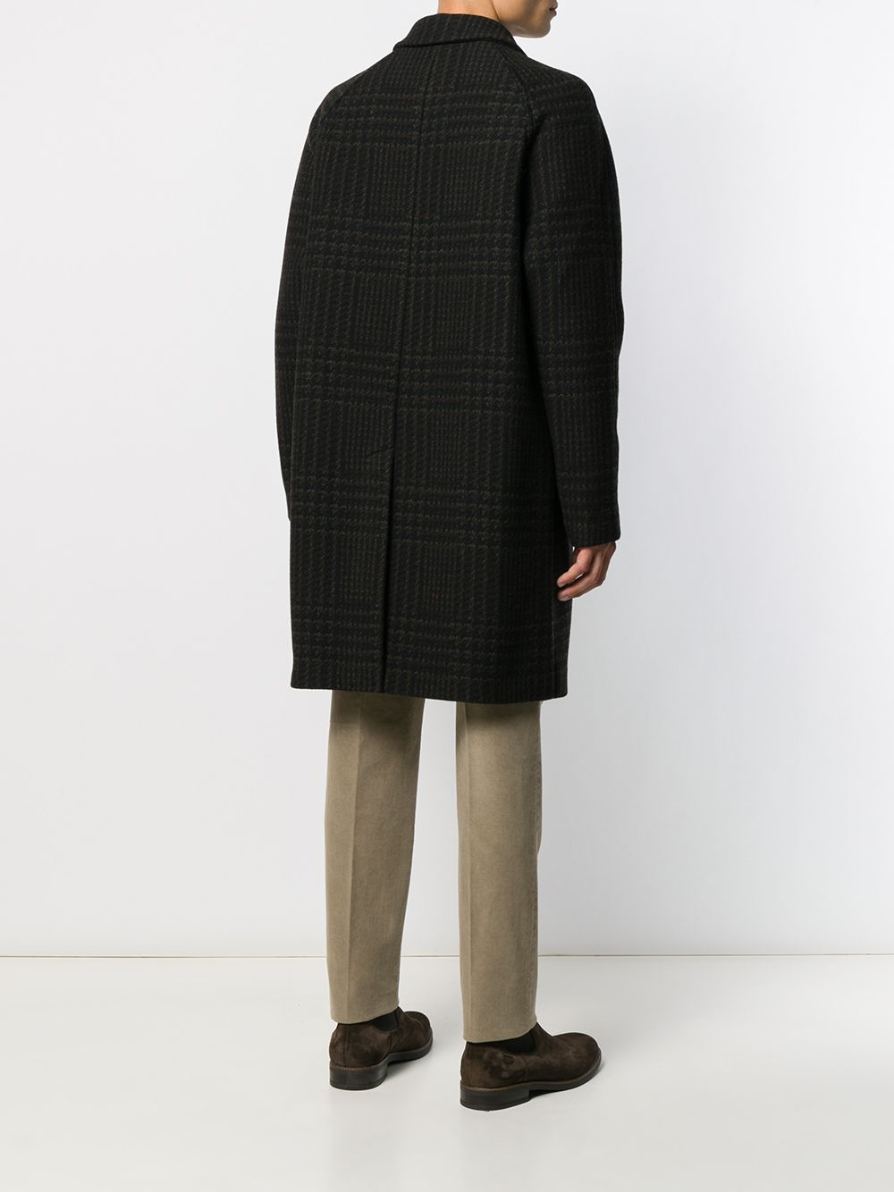 Picture of Palto` | Houndstooth Single-Breasted Coat