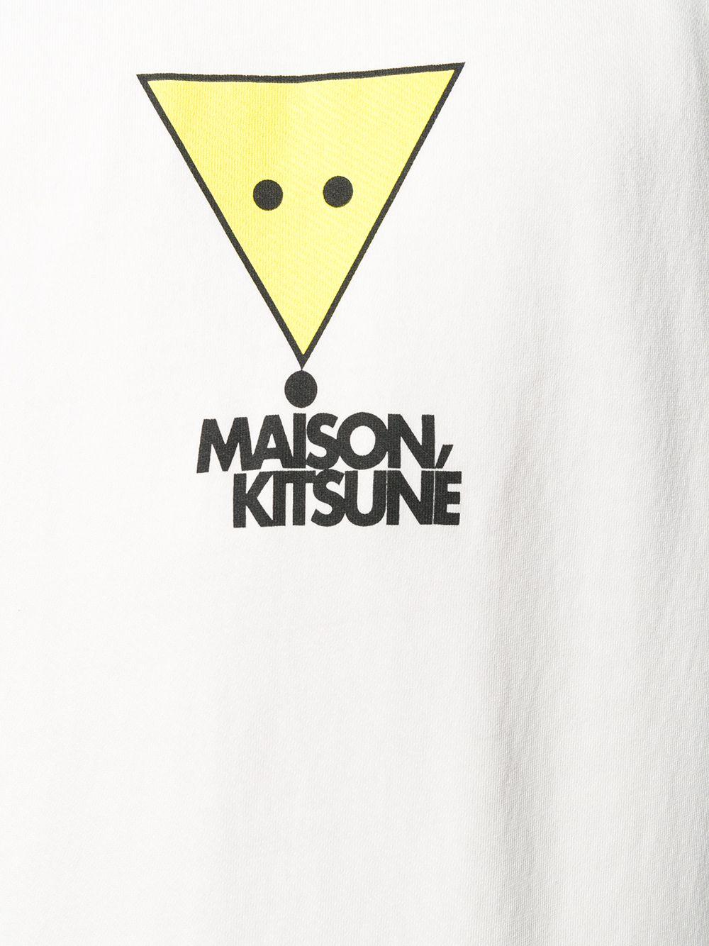 Picture of Maison Kitsune` | Logo Printed Sweatshirt