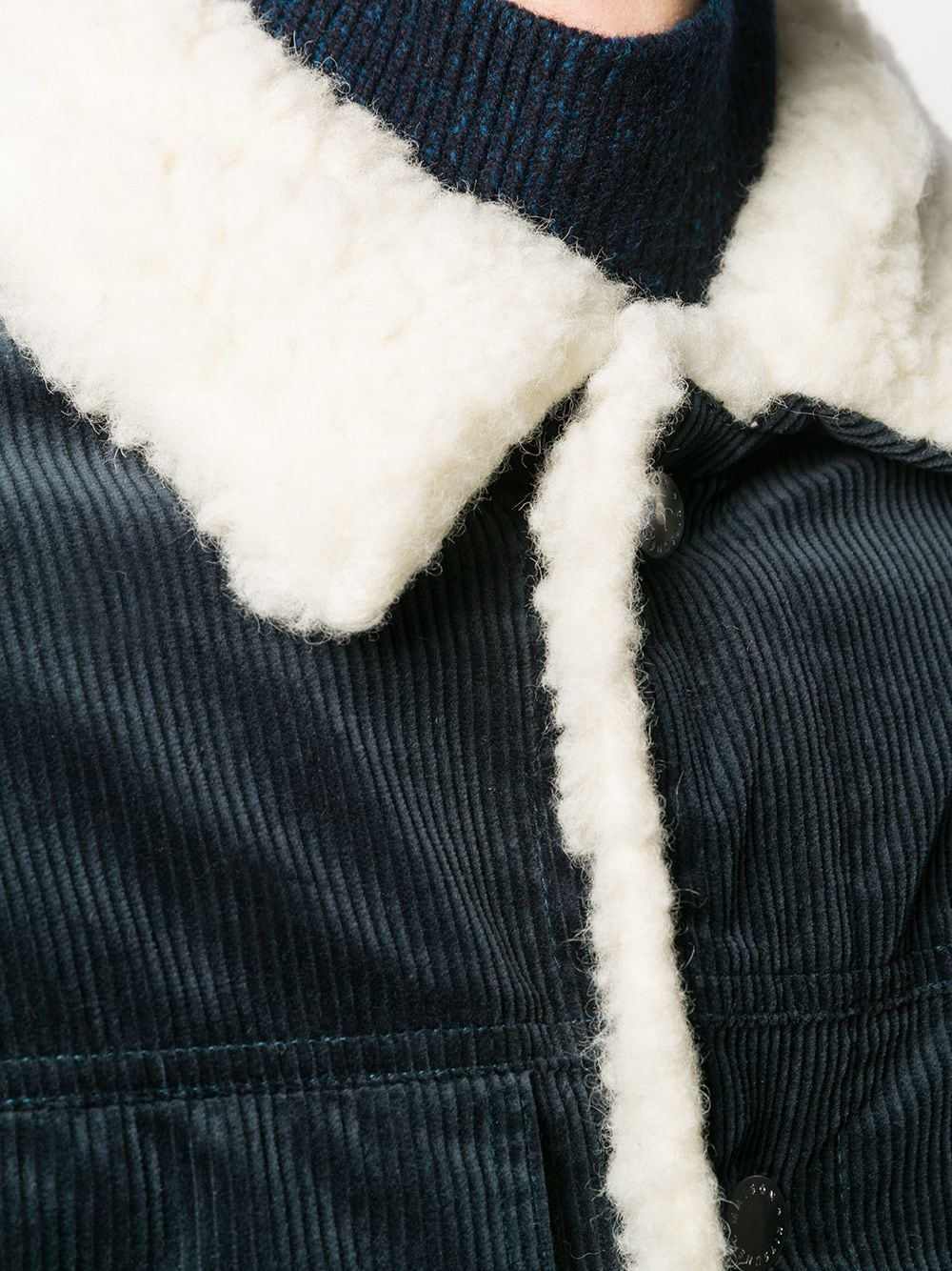 Picture of Maison Kitsune` | Shearling Lined Jacket