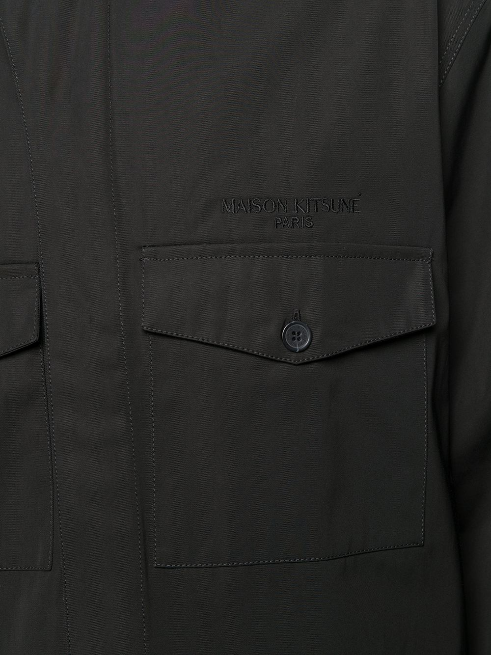 Picture of Maison Kitsune` | Concealed Front Jacket